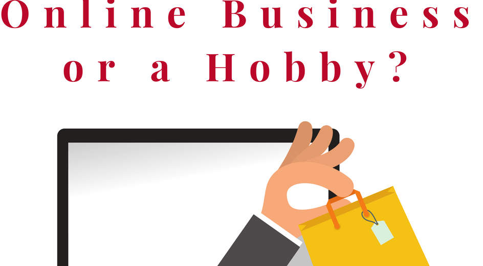 Online business or a hobby?