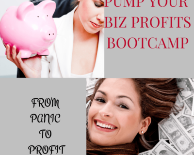 Pump Your Biz Profits Bootcamp