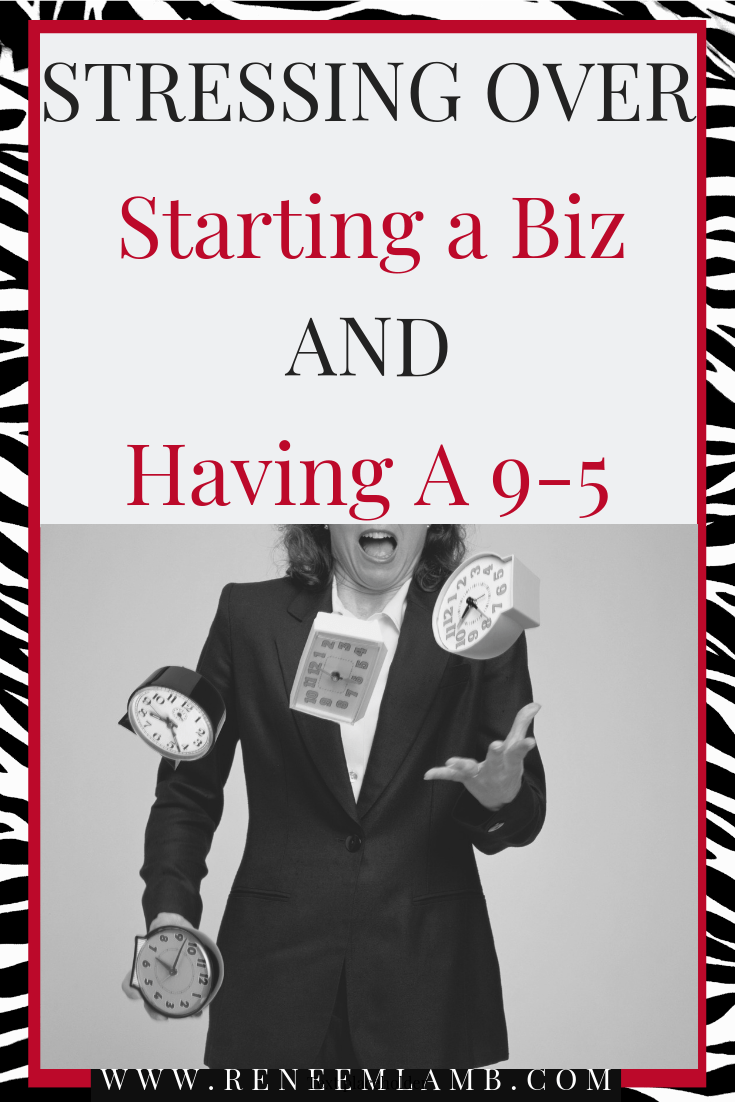 Are you stressing over how to start a biz while having a 9-5? I got an answer.  First, let me say YAY on your decision to start a side business. But now you are wondering how in the heck can I do this with a full-time job. Stop your fretting over it. I am about to drop some gems on the 8 steps you need to take to start your biz while working full time. Be sure to get your pen and pad. #sidehustle #jobexitstrategy #makingmoney